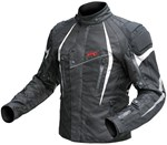 (CLEARANCE SALE) - DriRider Reactor Textile Jacket - Black White