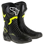 Alpinestars SMX-6 V2 Boots - Black/Fluro Yellow