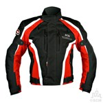 (EVERYDAY SPECIAL) - KG AIRFORCE TEXTILE JACKET BLACK/RED Clearance Special