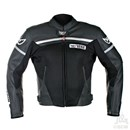 (CLEARANCE SALE) - Berik Fusion Leather Jacket Black (SIZE 50 ONLY)