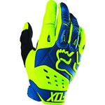 (CLEARANCE SALE) - FOX 2016 PAWTECTOR RACE GLOVES - BLUE/YELLOW