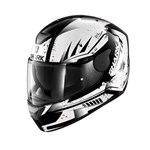 SHARK D-SKWAL DHARKOV ECE HELMET - White/Black/Red