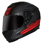 (CLEARANCE) - Kabuto RT-33 Acuto  Helmet - Black Red