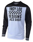 TROY LEE DESIGNS 2019 GP AIR JERSEY RACESHOP WHITE