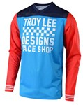 TROY LEE DESIGNS 2019 GP AIR JERSEY RACESHOP OCEAN