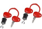Givi 2-Case Lock Set With 4 Matched Keys (Z227)
