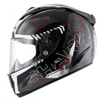 Shark Race-R Pro Cintas ECE Helmet - Black/White/Red