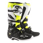 Alpinestars 2017 Tech 7 Motocross Boots (Black/White/Yellow Fluo)