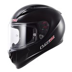 (CLEARANCE) - LS2 FF323 Aarow R Helmet - Solid Matte Black