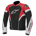 Alpinestars Stella GP Plus R Womens Leather Jacket Black/White/Red