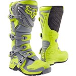 (CLEARANCE) Fox 2017 Comp 5 Boots - Yellow/Grey