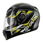 (SHARK CLEARANCE) - Shark S700S Nasty Helmet - Black Yellow