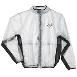 FOX 2018 FLUID WATERPROOF JACKET - CLEAR/BLACK