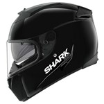 (CLEARANCE SALE) - Shark Speed-R MXV Helmet - Blank Black