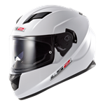 (CLEARANCE SALE) - LS2 FF320 Stream Helmet - Solid White