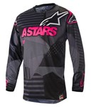 (CLEARANCE) Alpinestars 2018 RACER TACTICAL JERSEY - BLACK/PINK FLUO