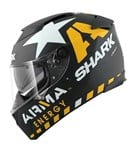 (SHARK CLEARANCE) - Shark Speed-R Redding Helmet - Black/Yellow/White