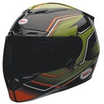 (CLEARANCE SALE) - Bell RS-1 Gas Helmet - Green/Orange