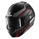Shark EVO-ONE Krono ECE Helmet - Matt Black/Anthracite/Red