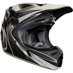 FOX 2018 V3 KUSTM HELMET - GREY