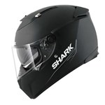 (SHARK CLEARANCE) - Shark Speed-R MXV Blank Helmet - Black