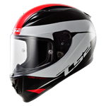 (CLEARANCE SALE) - LS2 FF323 Aarow R Helmet - Comet Black/White/Red