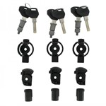 Givi 3-Case Trekker Lock Set With 6 Matched Keys (sl103)