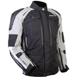 MOTO DRY - ADVENT-TOUR JACKET BLK/GREY