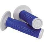 (CLEARANCE) SCOTT SXII GRIPS - BLUE/SILVER