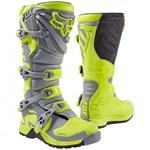 Fox 2017 Youth Comp 5 Boots - Yellow / Grey