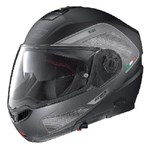 NOLAN N104 EVO TECH HELMET - FLAT BLACK/GREY
