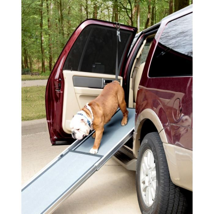 Deluxe Telescoping Pet Ramp 2 Sizes With Optional Side