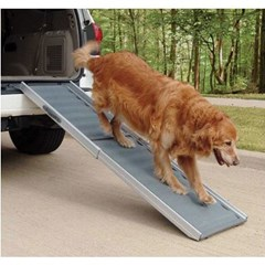 Deluxe Telescoping Pet Ramp - 2 sizes, with optional side door adaptor