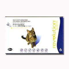 Revolution for Cats, 3-pack.  $29.95