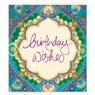 Gift Tag - Birthday Wishes Blue