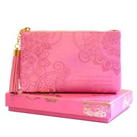 Coin Purse: Vintage Pink