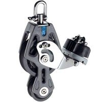 Lewmar 60mm Synchro Block - Single With Fiddle & Cam