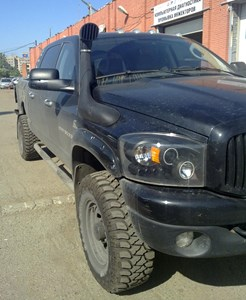 Airflow Snorkel Kit Dodge Ram, Dodge Mega Ram & Dodge Power Wagon