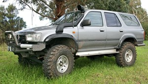 Airflow Snorkel Kit Toyota Hilux 4 Runner (Japanese Grey Import)