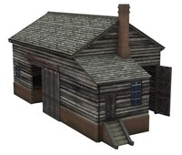 Bachmannn Scenecraft OO Scale Wooden Goods Shed