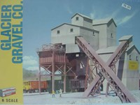 Walthers Cornerstone N/Scale Glacier Gravel Co.