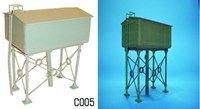 Dapol OO/HO Scale Water Tower Kit