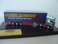SCA07CS Oxford Olivers Transport Curtain Side Semi Trailer