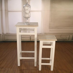 Pedestal Tables - Two Sizes 'Beachmere'