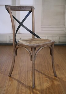 Dining Chair - Burned Wash Oak Charmont