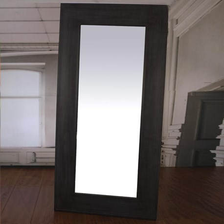 Belmont Dressing Mirror Large 1x2m - Charcoal
