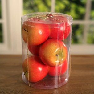 Apples Vase / Glass Jar Filler