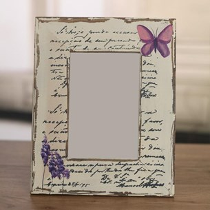 Butterfly Photo Frame 4x6