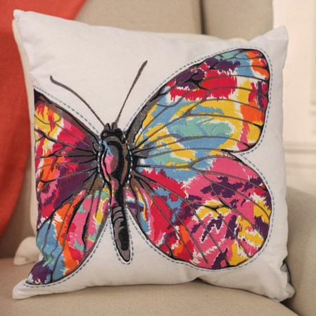 'Noosa' Butterfly Cushion