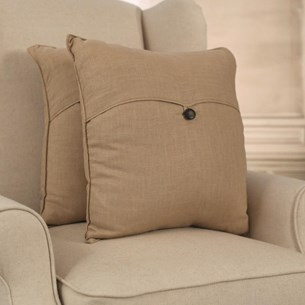100% Linen Earth Cushion - Square or Lumbar